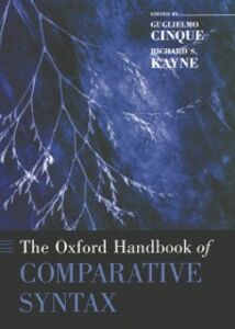 Foto Cover di Oxford Handbook of Comparative Syntax, Ebook inglese di  edito da Oxford University Press