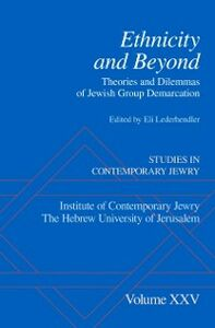 Ebook in inglese Ethnicity and Beyond: Theories and Dilemmas of Jewish Group Demarcation -, -