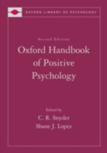 Ebook in inglese Oxford Handbook of Positive Psychology -, -