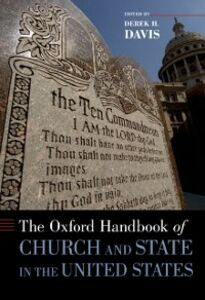 Ebook in inglese Oxford Handbook of Church and State in the United States