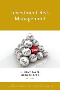 Foto Cover di Investment Risk Management, Ebook inglese di  edito da Oxford University Press