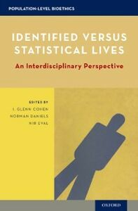 Ebook in inglese Identified versus Statistical Lives: An Interdisciplinary Perspective
