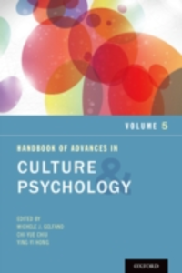 Ebook in inglese Handbook of Advances in Culture and Psychology, Volume 5 -, -