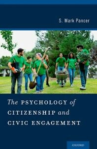 Ebook in inglese Psychology of Citizenship and Civic Engagement Pancer, S. Mark