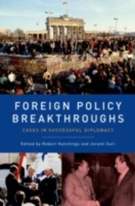 Ebook in inglese Foreign Policy Breakthroughs: Cases in Successful Diplomacy