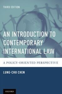 Ebook in inglese Introduction to Contemporary International Law: A Policy-Oriented Perspective Chen, Lung-chu