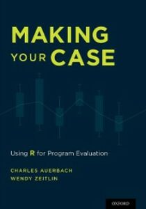 Ebook in inglese Making Your Case: Using R for Program Evaluation Auerbach, Charles , Zeitlin, Wendy