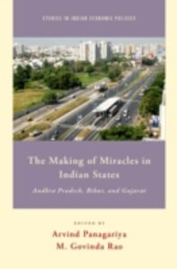 Ebook in inglese Making of Miracles in Indian States: Andhra Pradesh, Bihar, and Gujarat Rao, M. Govinda