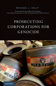 Ebook in inglese Prosecuting Corporations for Genocide Kelly, Michael J.
