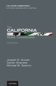 Foto Cover di California State Constitution, Ebook inglese di AA.VV edito da Oxford University Press