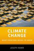 Libro in inglese Climate Change: What Everyone Needs to Know Joseph Romm