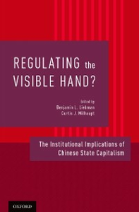 Ebook in inglese Regulating the Visible Hand?: The Institutional Implications of Chinese State Capitalism -, -