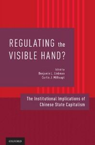 Foto Cover di Regulating the Visible Hand?: The Institutional Implications of Chinese State Capitalism, Ebook inglese di  edito da Oxford University Press