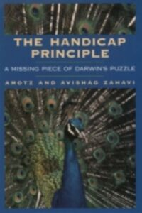 Ebook in inglese Handicap Principle: A Missing Piece of Darwins Puzzle Zahavi, Amotz , Zahavi, Avishag