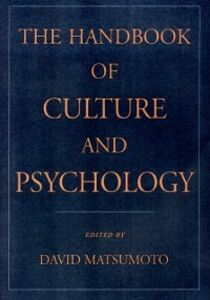 Ebook in inglese Handbook of Culture and Psychology -, -