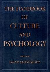 Handbook of Culture and Psychology
