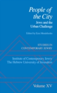 Ebook in inglese Studies in Contemporary Jewry: Volume XV: People of the City: Jews and the Urban Challenge -, -