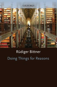 Ebook in inglese Doing Things for Reasons Bittner, Rudiger