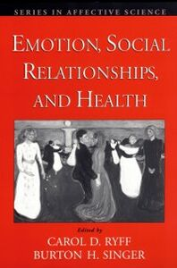 Ebook in inglese Emotion, Social Relationships, and Health
