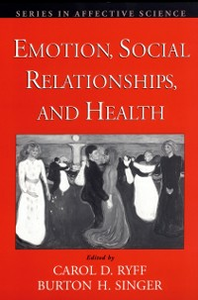 Ebook in inglese Emotion, Social Relationships, and Health -, -