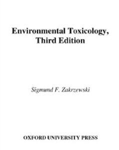 Foto Cover di Environmental Toxicology, Ebook inglese di  edito da Oxford University Press
