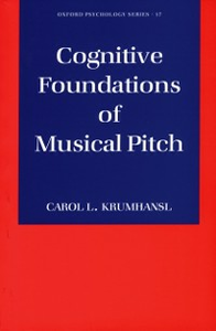 Ebook in inglese Cognitive Foundations of Musical Pitch Krumhansl, Carol L.