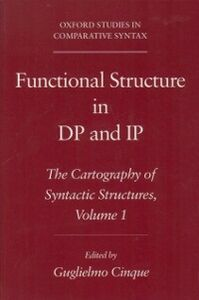Ebook in inglese Functional Structure in DP and IP: The Cartography of Syntactic Structures, Volume 1 -, -