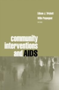 Ebook in inglese Community Interventions and AIDS -, -