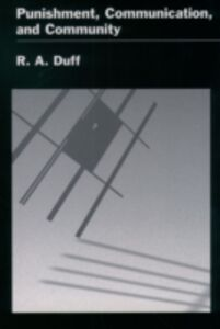 Ebook in inglese Punishment, Communication, and Community Duff, R. A.