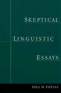 Ebook in inglese Skeptical Linguistic Essays Postal, Paul M.