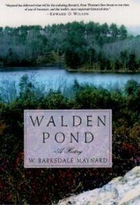 Ebook in inglese Walden Pond: A History Maynard, W. Barksdale