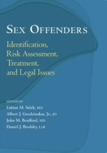 Ebook in inglese Sex Offenders: Identification, Risk Assessment, Treatment, and Legal Issues -, -
