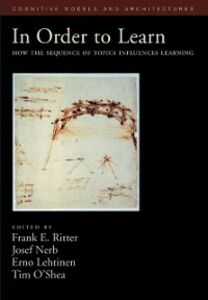 Foto Cover di In Order to Learn: How the Sequence of Topics Influences Learning, Ebook inglese di  edito da Oxford University Press