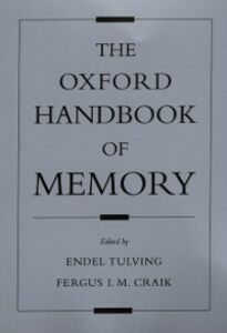 Foto Cover di Oxford Handbook of Memory, Ebook inglese di  edito da Oxford University Press
