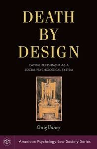 Foto Cover di Death by Design: Capital Punishment As a Social Psychological System, Ebook inglese di Craig Haney, edito da Oxford University Press