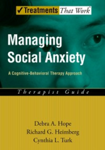 Ebook in inglese Managing Social Anxiety: A Cognitive-Behavioral Therapy Approach Therapist Guide Heimberg, Richard G. , Hope, Debra A. , Turk, Cynthia L.