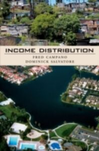 Ebook in inglese Income Distribution: Includes CD Campano, Fred , Salvatore, Dominick