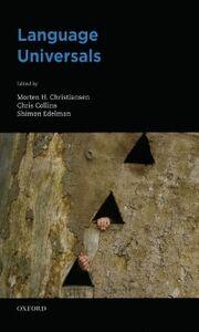 Foto Cover di Language Universals, Ebook inglese di AA.VV edito da Oxford University Press