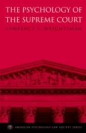 Psychology of the Supreme Court