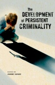 Ebook in inglese Development of Persistent Criminality Savage, Joanne