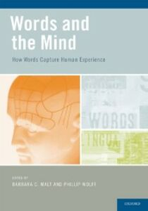 Foto Cover di Words and the Mind: How words capture human experience, Ebook inglese di  edito da Oxford University Press