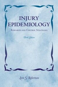 Ebook in inglese Injury Epidemiology: Research and Control Strategies Robertson, Leon