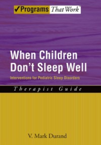Ebook in inglese When Children Dont Sleep Well: Interventions for Pediatric Sleep Disorders Therapist Guide Durand, V. Mark