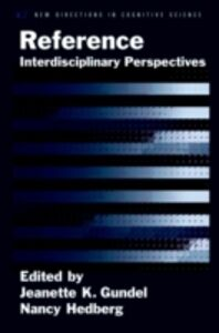 Foto Cover di Reference: Interdisciplinary Perspectives, Ebook inglese di Jeanette K. Gundel,Nancy Hedberg, edito da Oxford University Press