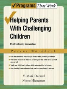 Ebook in inglese Helping Parents with Challenging Children Positive Family Intervention Parent Workbook Durand, V. Mark , Hieneman, Meme