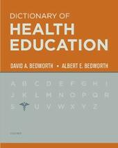 Dictionary of Health Education