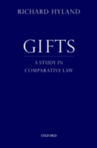 Ebook in inglese Gifts: A Study in Comparative Law Hyland, Richard