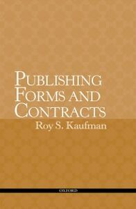 Ebook in inglese Publishing Forms and Contracts Kaufman, Roy