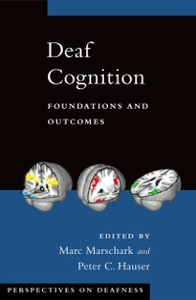 Ebook in inglese Deaf Cognition: Foundations and Outcomes -, -