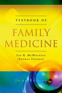 Ebook in inglese Textbook of Family Medicine Freeman, Thomas , McWhinney, Ian R